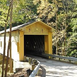 Covered Bridge Ohio  by Nancy Spirakus