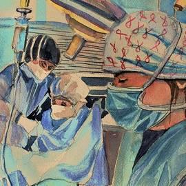 Covid 19 Nurses by Mindy Newman