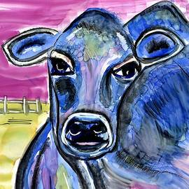 Cow Pop Painting by Patty Donoghue
