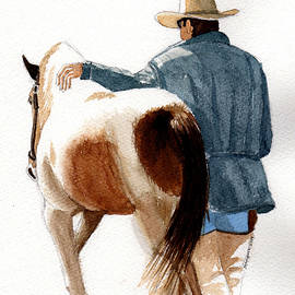 Cowboy and His Horse by Margaret Bucklew