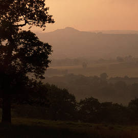 Crag Valley At Dusk by Clive Beake