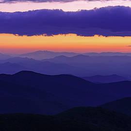 Craggy Mountain, North Carolina Sunset