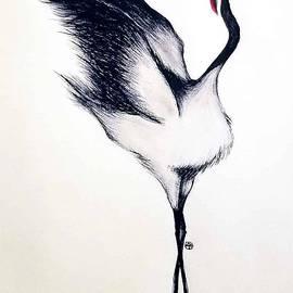 Crane 1 by Su Lee