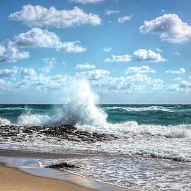 Crashing into Shore by Debra and Dave Vanderlaan