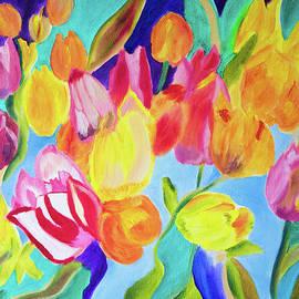 Crayola Tulips by Meryl Goudey