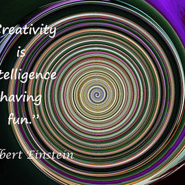Crayon and Creativity - swirl