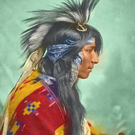 Cree Indian - DWP1538442 by Dean Wittle