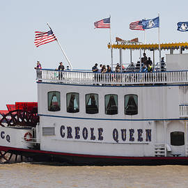 Creole Queen - New Orleans by Art Block Collections