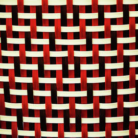 Crisscross pattern in a typical french cafe chair by Carolina Reina