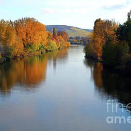 Crossing The Mosel River by Douglas Taylor