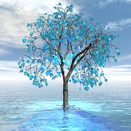 Crystal Blue Tree by Matthew Lacey