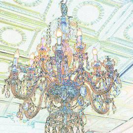 Crystal Chandelier  by Bentley Davis