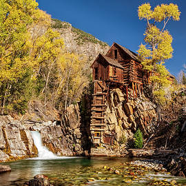 Crystal Mill Powerhouse Colorado USA by Gary McJimsey