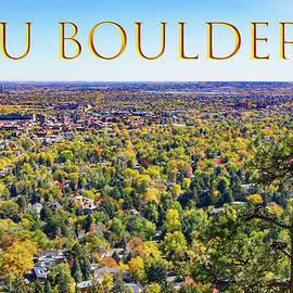 CU Boulder by Lorraine Baum