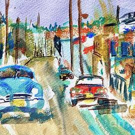 Cuba Streets painting  2 by Patty Donoghue