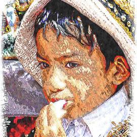 Cuenca Kids 1273 by Al Bourassa