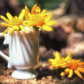 Cup Of Sunshine by Jim Love