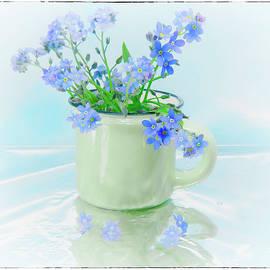 Cuppa Blue by Arlene Krassner