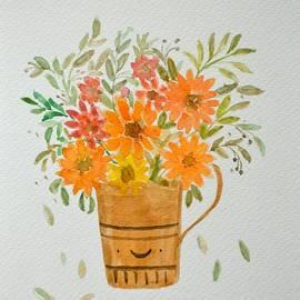 Cuppa Flowers by Sonali Gangane