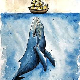 Curious Whale by Tanya Gordeeva