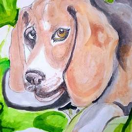 Curty the Beagle by Lyn Vic