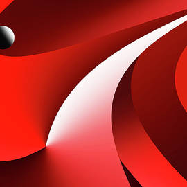Curves of space  - 5035 by Panos Pliassas