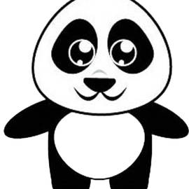 Cute Cartoon Panda by Beginners