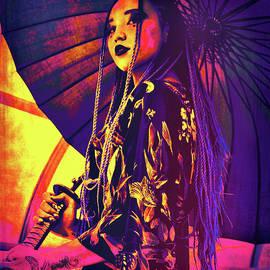 Cyberpunk Geisha by Susan Maxwell Schmidt