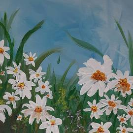 Daisies In The Field by Betty-Anne McDonald