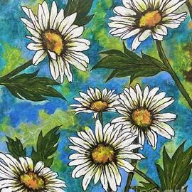 Daisy Delight by Vardi Art