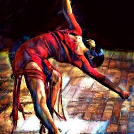 Dancer in Red by James Shepherd