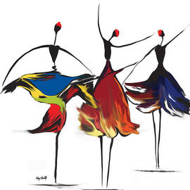 Dancers by Roby Marelly