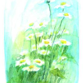 Dancing little daisies by Karen Kaspar