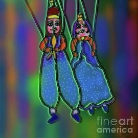 Dancing Puppets by Latha Gokuldas Panicker