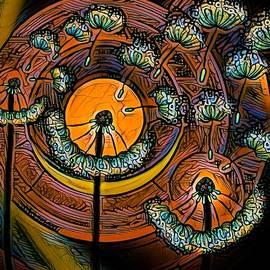 Dandelion Bright Globular Heads by Joan Stratton