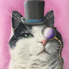 Dapper Kitty by Erika Clarke