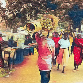 Dar-Es-Salaam Market by Kay Brewer