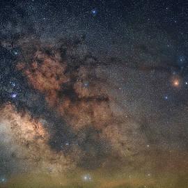 Dark Horse Nebula 3 by Robert Fawcett