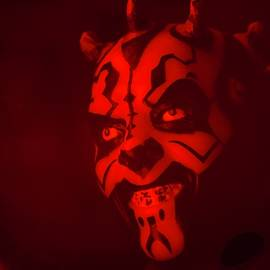 Darth Maul From Star Wars by Neil R Finlay