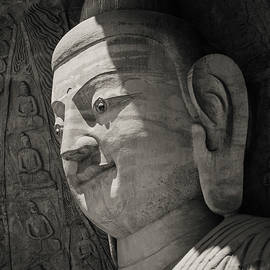 Datong Stone Buddha by Dave Bowman