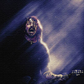 Dave Grohl Live concert by Gunawan RB