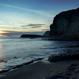 Davenport Cliffs at Sunrise by Morgan Wright
