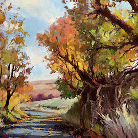Davis Hollow Country Road by Steve Henderson