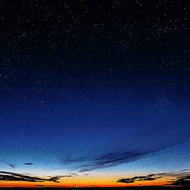 Dawn and Stars by Marty Saccone