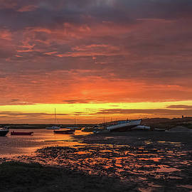 Dawn at Morston Quay by Jim Key