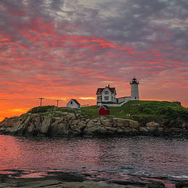 Dawn at the Nubble 2 by Steven Ralser