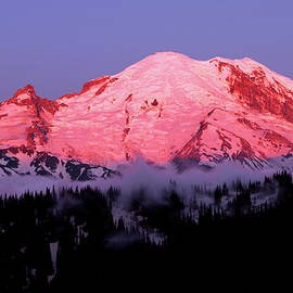 Dawn, Mount Rainier Mural by Douglas Taylor
