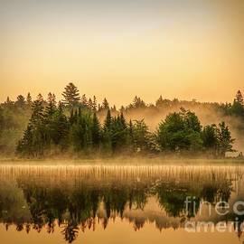 Dawn on Round Pond - Allagash Maine by Jan Mulherin