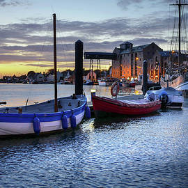 Dawn Wells Harbour  by Jim Key