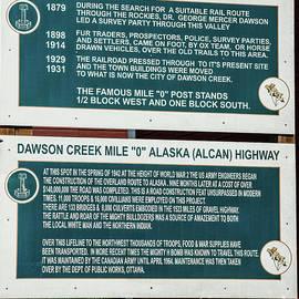 Dawson Creek Information by Robert Bales